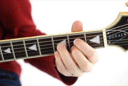 G 5 guitar chord